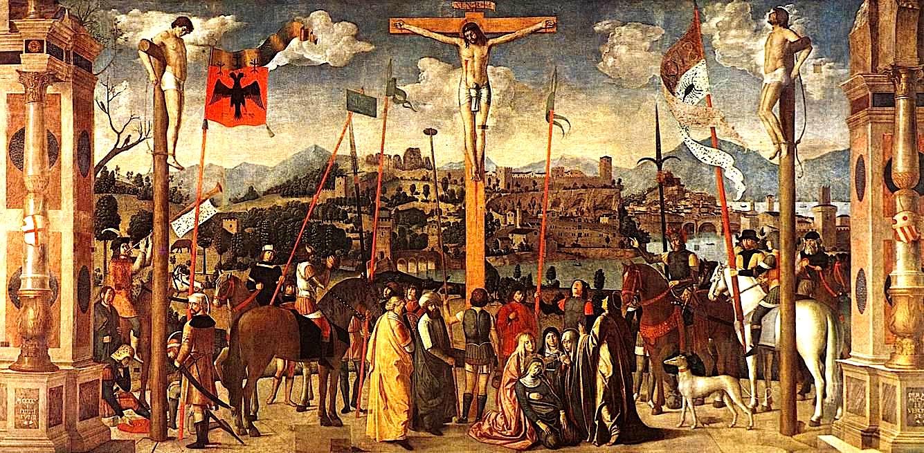 Crocifissione di Michele da Verona - afërisht e vjetit 1501