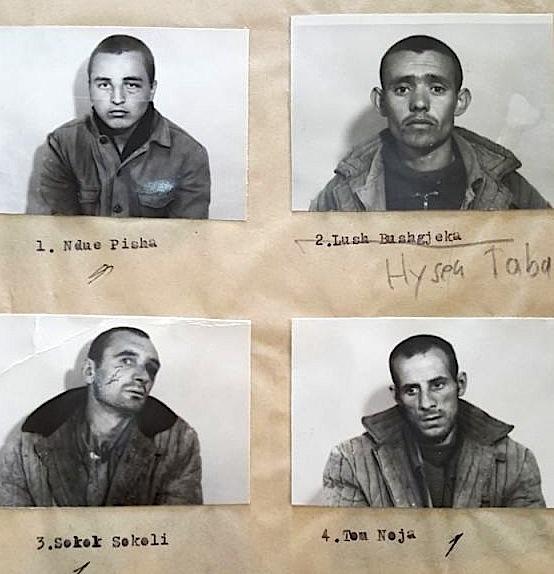 Të dënuar të Revoltës së Qafë-Barit (22 maj 1984)