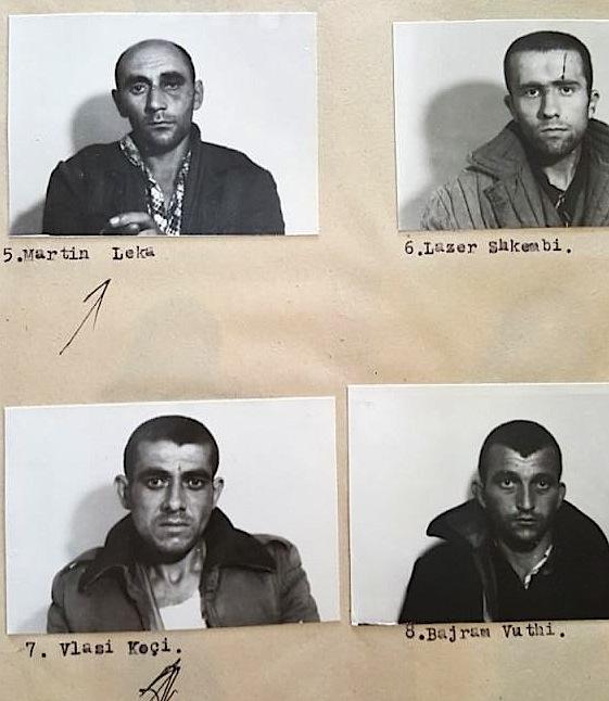 Të dënuar të Revoltës së Qafë-Barit - 3 - (22 maj 1984)