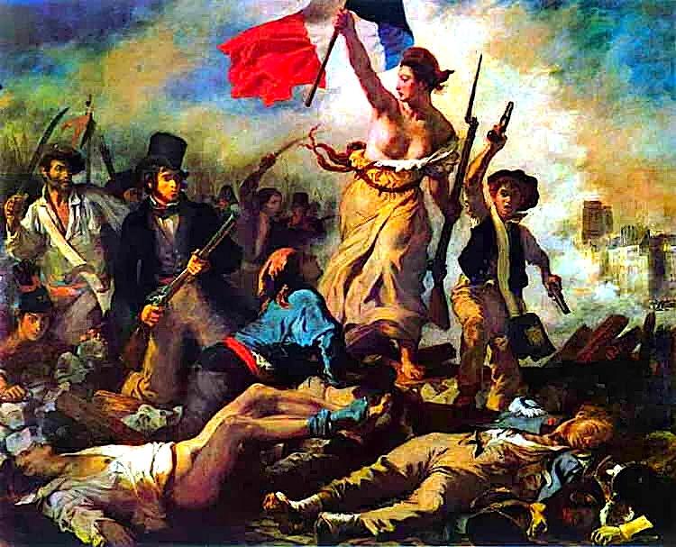 Revolucioni Francez - Liria mbi Barrikada - Delakrua