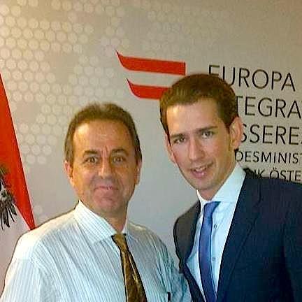 Sebastian Kurz dhe Gjergj Jozef Kola