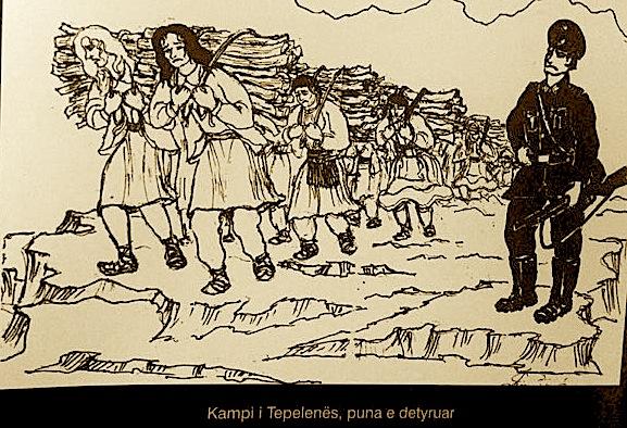 Kampi i Tepelenës - Mundimi i grave dhe vajzave
