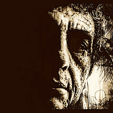 Fatbardh Marku  - Self-portrait 2015 - Teknikë e përzier