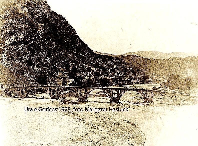 Margaret Hasluck, Ura e Goricës 1923