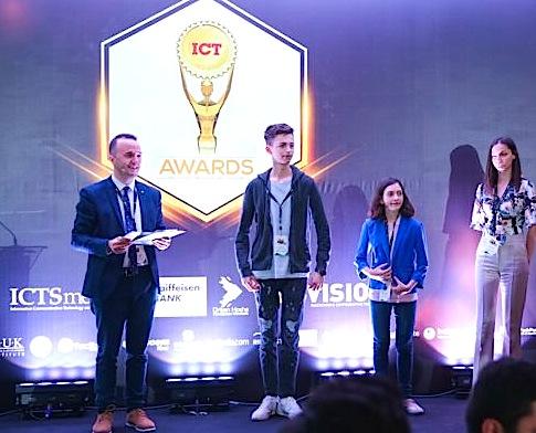 Mario Alla - fitues në konkursin ICT Awards 2018