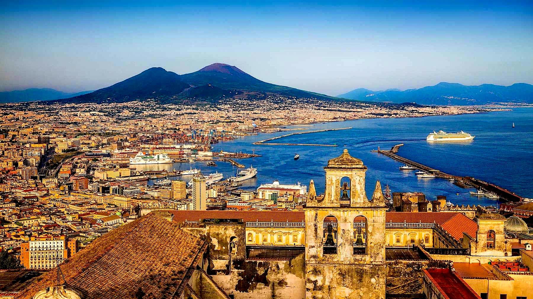Napoli - Pamje nga San Martino