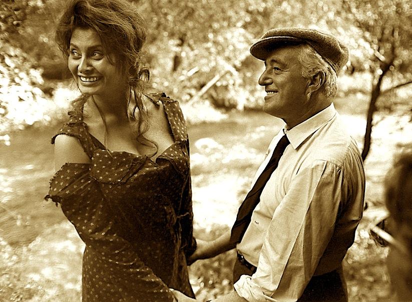 Sofia Loren & Vittorio de Sica  - Ciociaria
