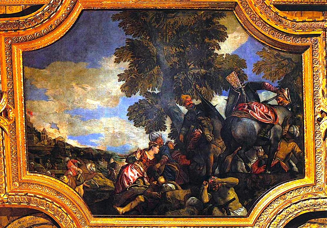 Paolo Veronese - Siege of Shkodra