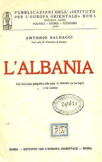 Antonio Baldacci - Albania