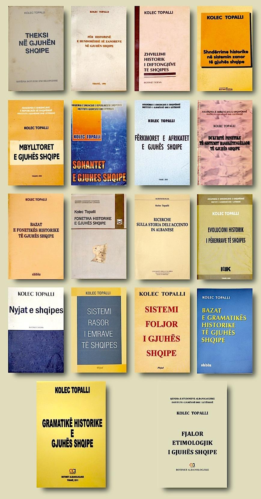 Vepra e botuar e Kolec Topallit