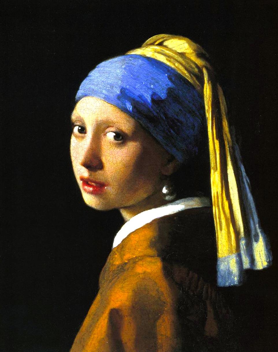 Johannes Vermeer - Vajza me vëthët perla