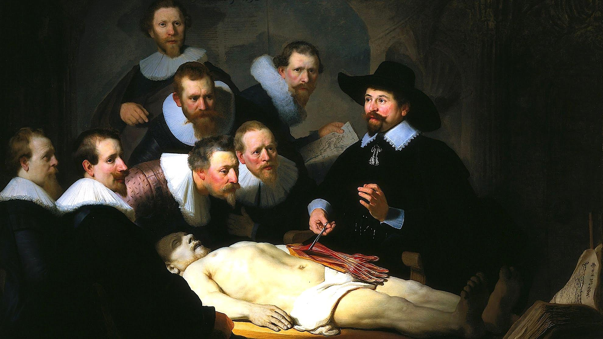 Rembrand - Leksioni i Anatomisë i Dr. Nicolaes Tulp