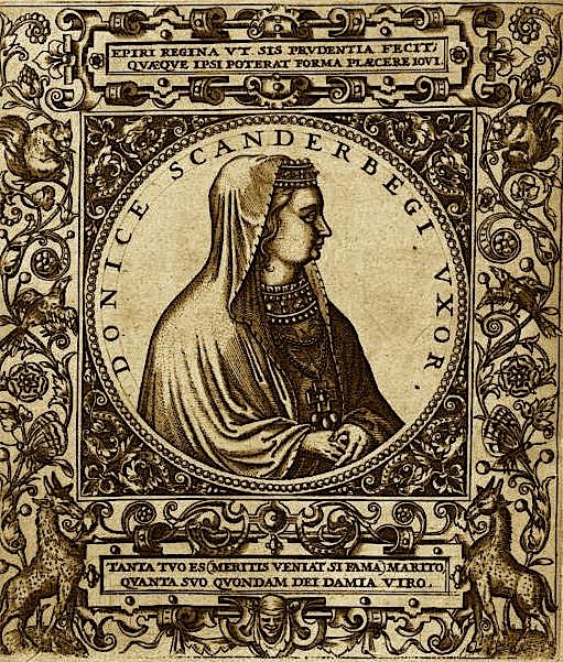 Andronika Kastrioti - Arianiti (1428-1505)