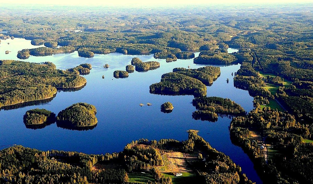 Finlanda - Liqene dhe Pyje