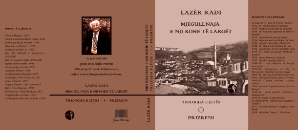 Lazër Radi - Mjegullnaja e nji kohe të largët - Kopertina
