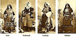 Kostume popullore të Malsisë së Shkodrës