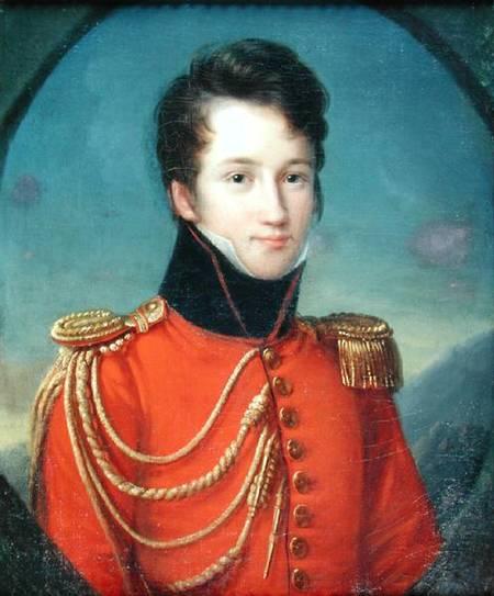 Portret i Alfred de Vigny 1797