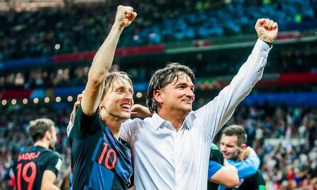 11 korrik 2018 - Modriç dhe Deliç mbas fitores ndaj Anglise