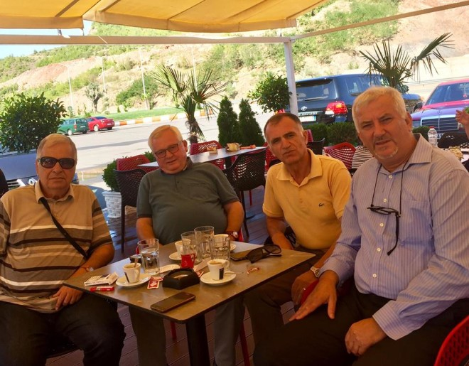 Rrugës për Prizren - Nikolin Kurti, Jetnor Maxhari, Nikoll Loka, Jozef Radi