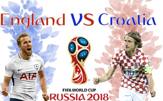 Croatia -vs- England - 11 july 2018