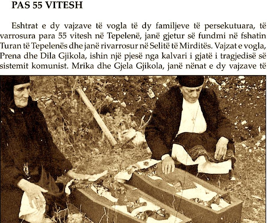 Dy Malësoret e nderuara në Përkujtimin Viktimave të Kampit të Tepelenës...