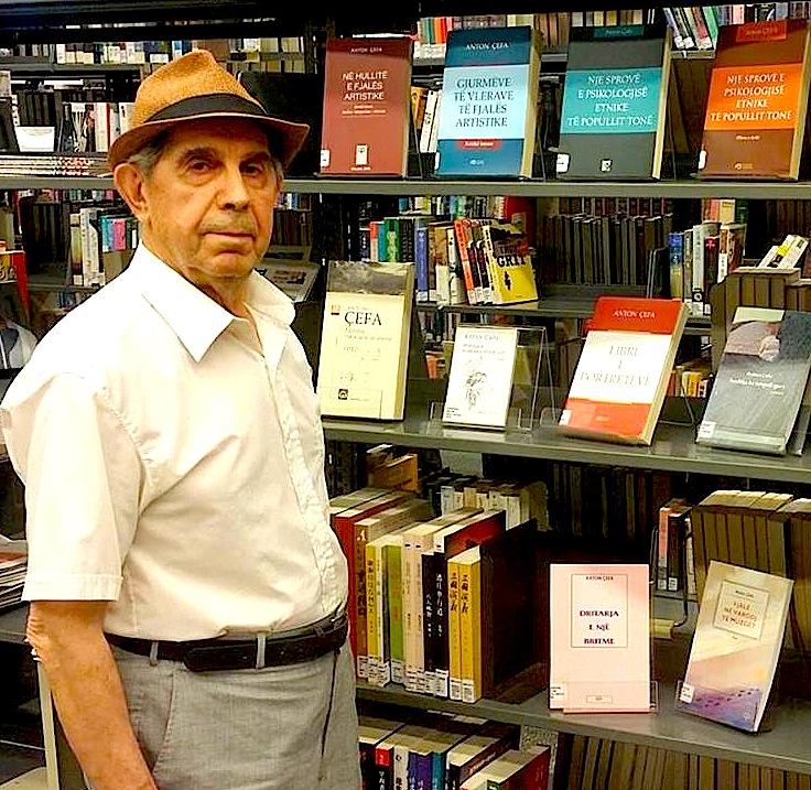 Anton Cefa në Bibliotekën e Rogerwood