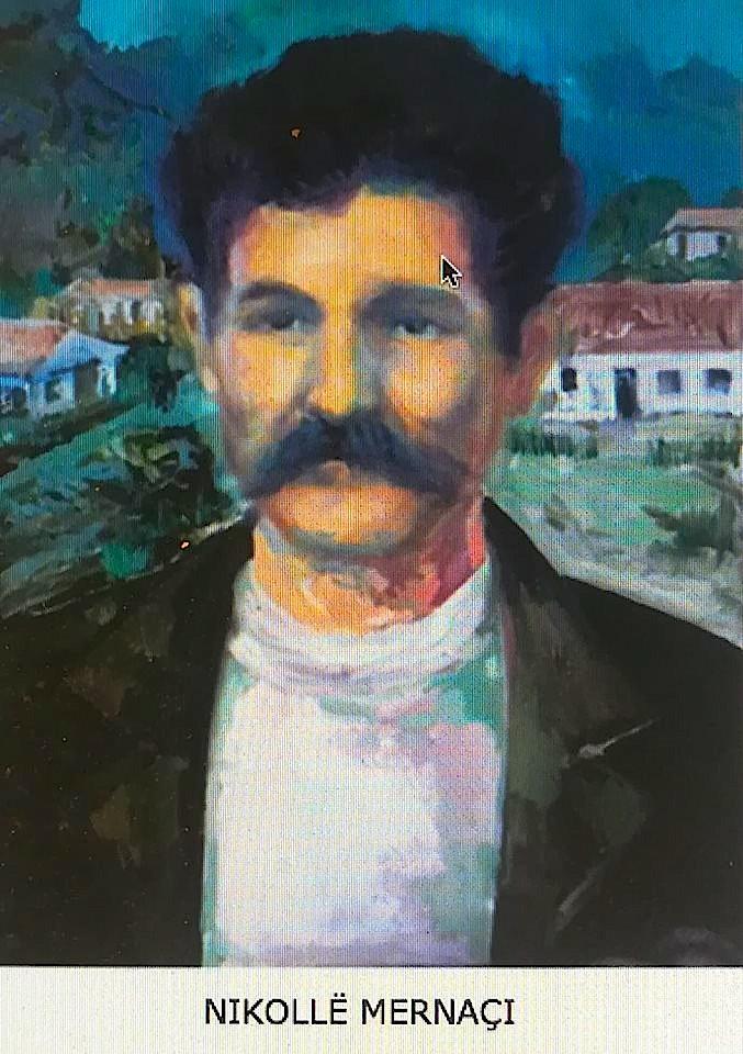 Nikollë Merrnaçaj - pikturë nga Zef Naçaj