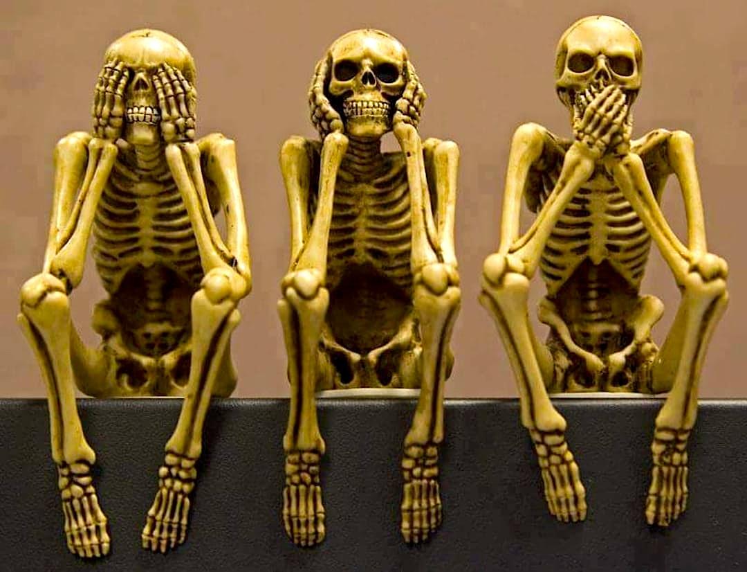 Nëse nuk shohim, nuk dëgjojmë dhe heshtim - Jemi kufoma të vdekjes