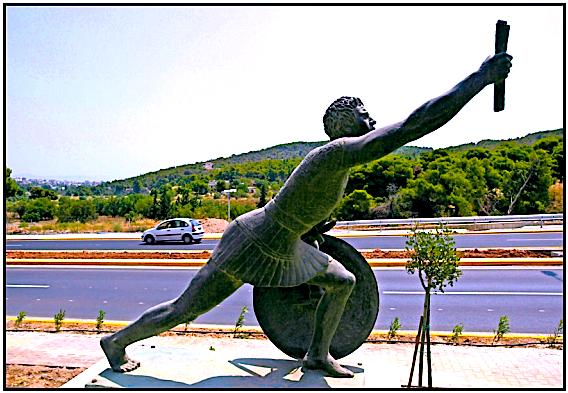 Figura e Heroit Filippides - Lajmëtari i fitores në Maratonë (12 gusht 490 p.K)