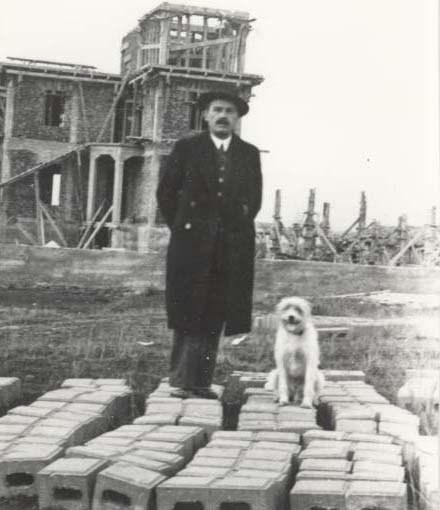 Mirash Ivanaj  - shtëpia që po ndërtonte 1937