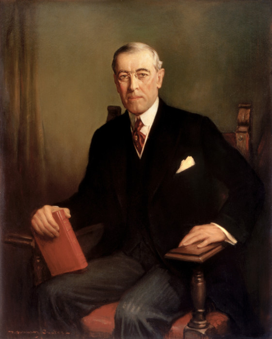 Woodrow Wilson (1856-1924)