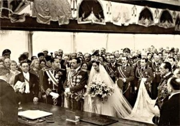 Akti i Marteses i Mbretit Zog me Geraldina Apogny