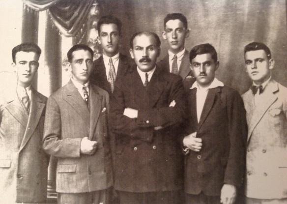 Mirash Ivanaj dhe gjimnazistat demonstrues - Shkoder 1927