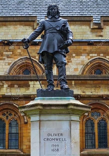 Statuja e Oliver Cromwell (1599-1658)
