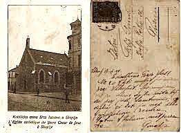 Kartolina, e Çuperjanit nga Gonxhe Bojaxhiu, 17 shtator 1928