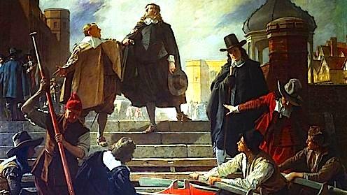 Madheshtia e Oliver Cromwellit