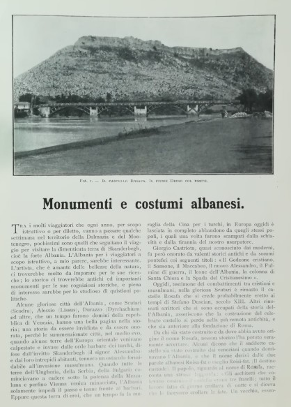 Foto e Kolë Macës (1 maj 1908)