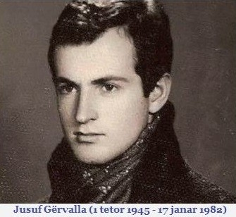 Jusuf  Gervalla (1945-1982)