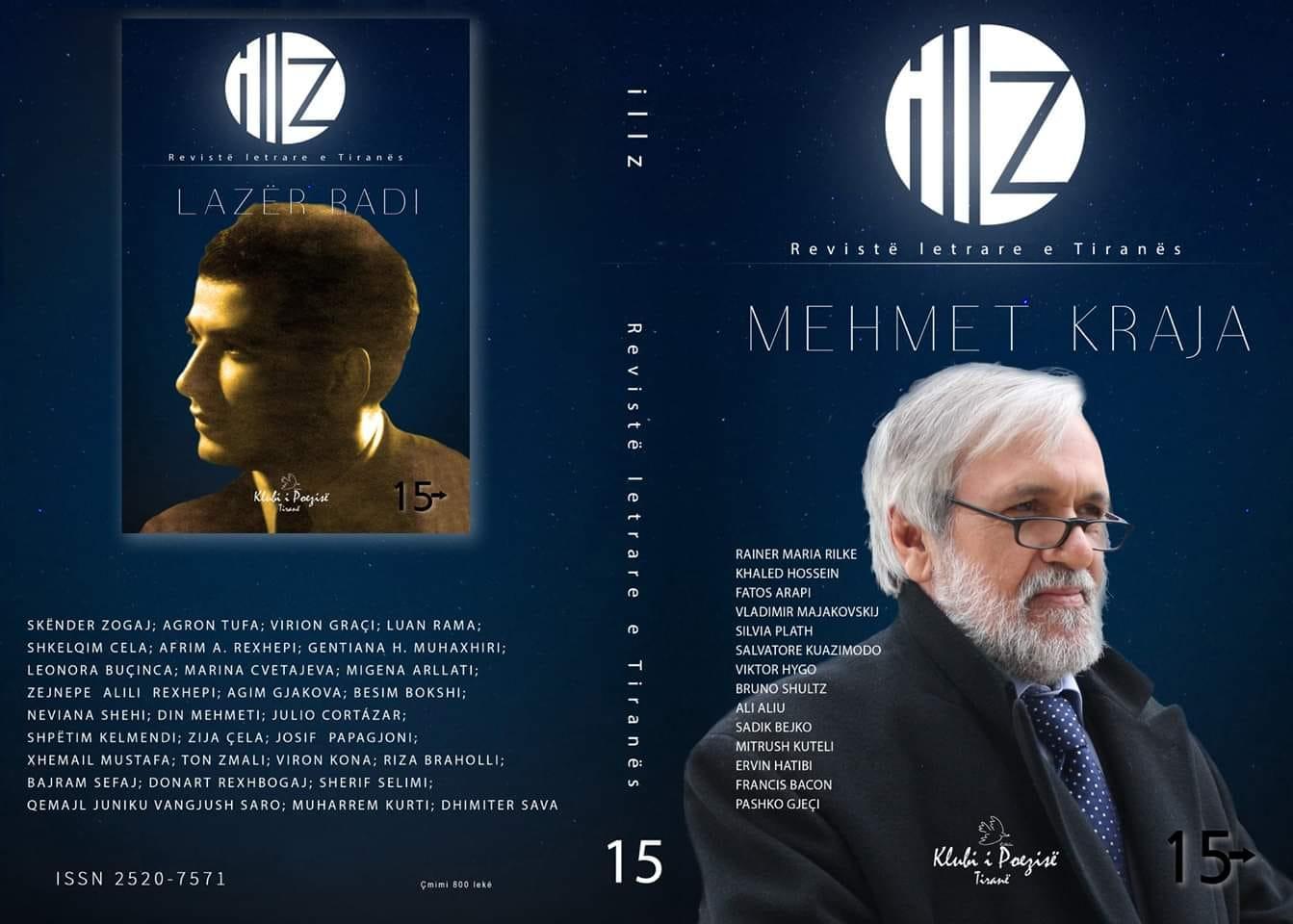 """""""Illz"""", Numri 15 - Revistë letrare e Tiranës"""