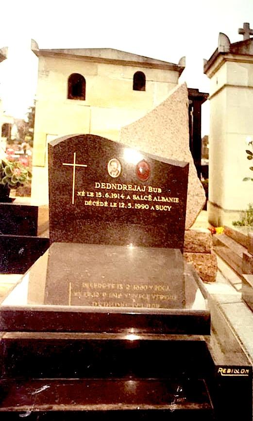 Vorri i Bub Dedndreaj (15.06.1914 Nikaj-Mertur - 12.05.1990 Paris-France)