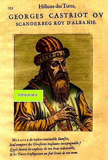 (portret i Skënderbeut)