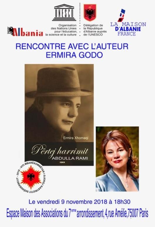 """Posteri i Promovimit të Librit """"Përtej Harrimit"""", kushtuar Abdulla Ramit"""