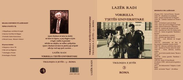"""Lazër Radi - """"Vorbulla të Jetës Universitare"""" - Roma"""