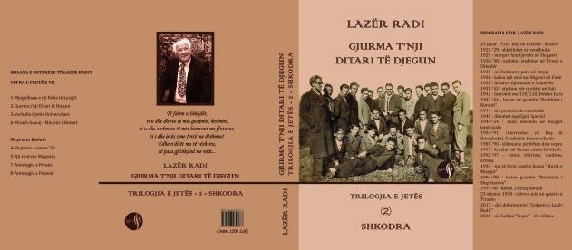 """Lazër Radi - """"Gjurma të nji Ditari të Djegun"""" - Shkodra"""