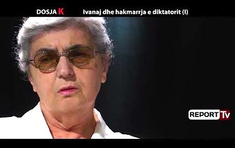 Pertefe Leka duke folur në Dokumentarin për Mirash Ivanajn