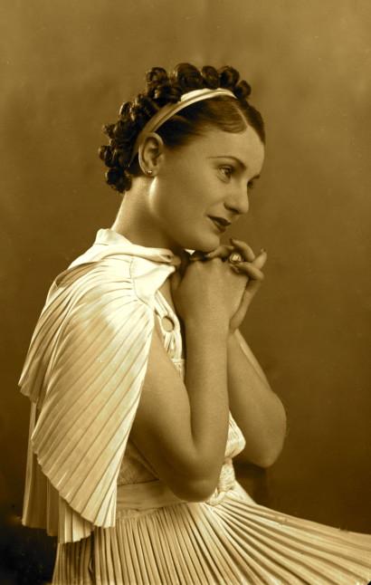 Sopranoja Tefta Tashko (1910-1947) - Foto Marubi
