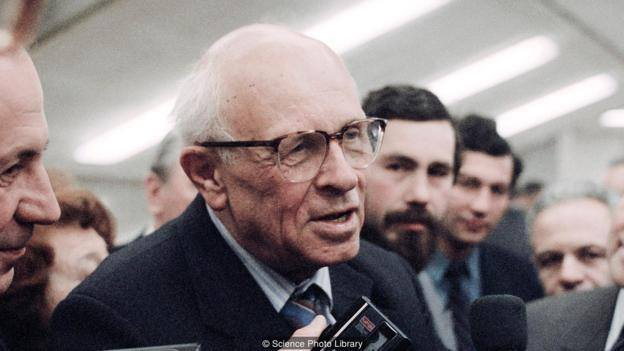 Andrej Sakharov (1921-1989)