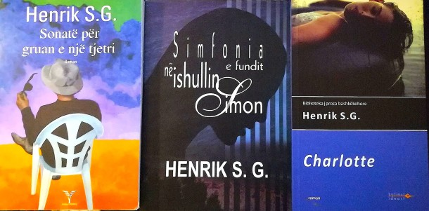 Tre vepra të autorit Henrik S. G.