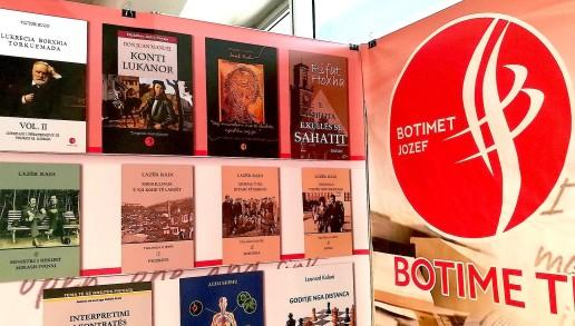 """Panairi i Librit 2018 - 5 Veprat në stendën """"Jozef"""""""