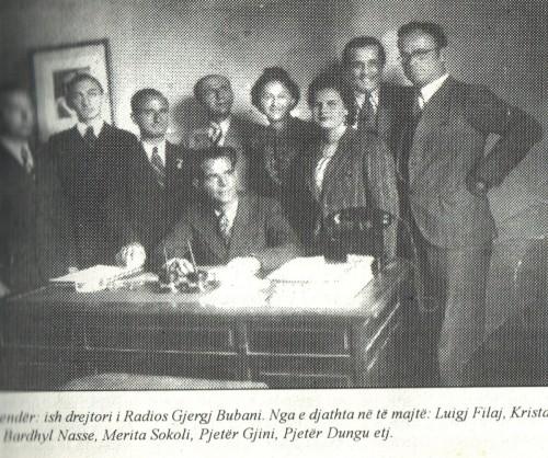 Luigj Filaj te Radio Tirana